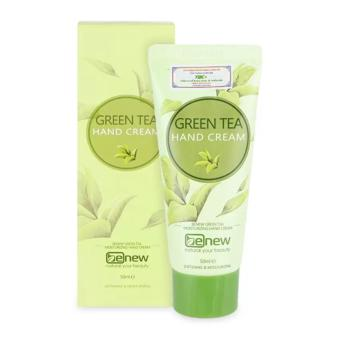 Kem dưỡng da tay cao cấp Benew Green Tea Hand Cream 50ml