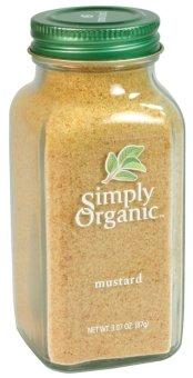 Bột mù tạt vàng Simply Organic Mustard Seed Ground 87g