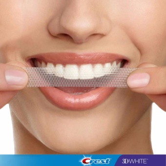 Miếng dán trắng răng Crest 3D White 1-Hour Express ( dùng cho 4 ngày ).