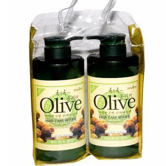 Cặp Dầu Gội Xả Olive 800ml