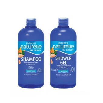 Bộ tắm gội chiết xuất rong biển Farmasi naturelle Sea Therapy