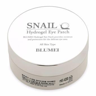Hộp 60 Miếng Mặt Nạ dưỡng da vùng Mắt ốc sên Blumei Snail Hydrogel Eye Patch 60pcs