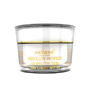 Kem Trị Nám Trắng Da Ban Ngày Sakura Whitening Day Cream Spf45 30G