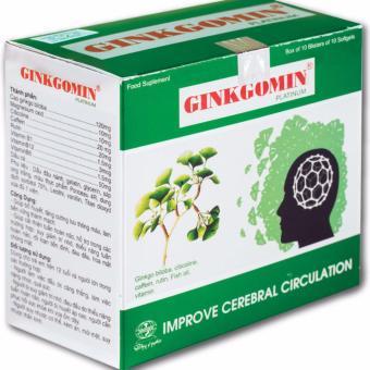 Hoạt huyết dưỡng não GINKGOMIN PLATINUM