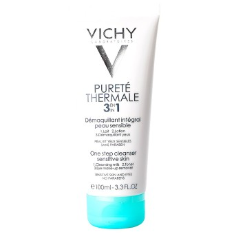 Sữa rửa mặt tẩy trang 3 tác dụng Vichy One Step Cleanser 100ml