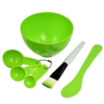 Bộ dụng cụ pha chế mặt nạ tại nhà DC01 (xanh lá)