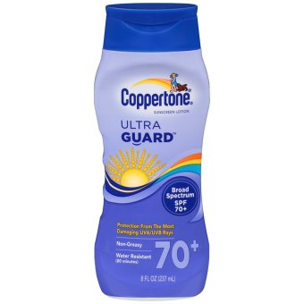 Kem chống nắng Coppertone Ultraguard Sunscreen Lotion, SPF 70+ 237ml