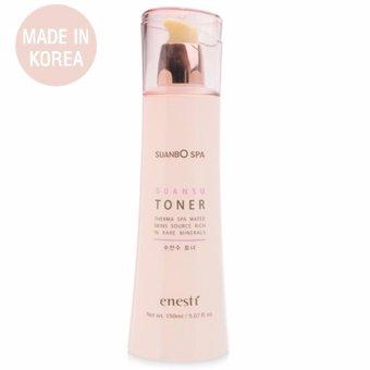 Nước hoa hồng trắng da, se khít lỗ chân lông Enesti Suansu Toner Cao cấp Hàn Quốc 150ml - Hàng Chính Hãng