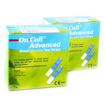 Que thử đường huyết Acon On call Advanced 25 que