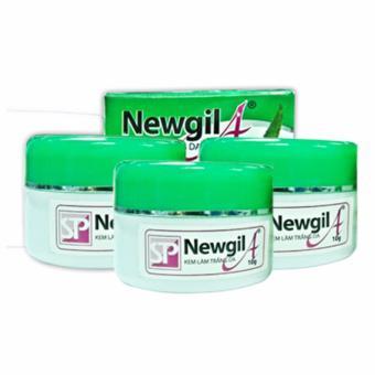Bộ 3 sản phẩm kem trắng da Newgil A ngăn ngừa lão hóa da 6g