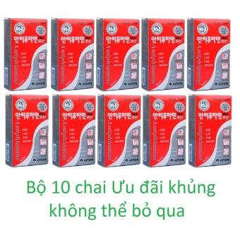 Bộ 10 chai Dầu nóng xoa bóp ANTIPHLAMINE 100ml