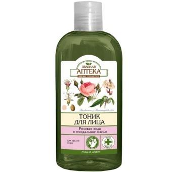 Nước cân bằng da dành cho da có dấu hiệu lão hóa Hoa hồng và dầu hạnh nhân Green Pharmacy 200ml