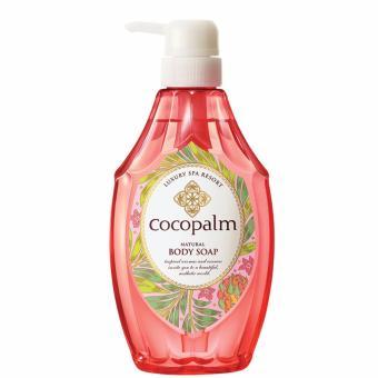 Sữa tắm dưỡng thể Nhật Bản Cocopalm chai 600ml - Hàng nhập khẩu