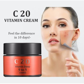 Kem dưỡng sáng da thần thánh C20 vitamin sleep 9 to 5 crema 50ml