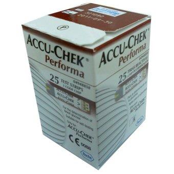 Hộp 25 que thử đường huyết Accu-Check Performa