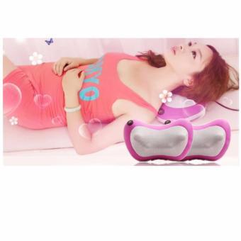 Bộ Gối mát-xa Massage Magic 6 bi hồng ngoại PL818 (Tím)