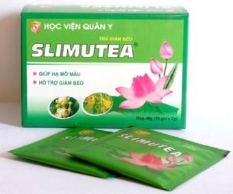 COMBO 5 hộp trà giảm cân SLIMUTEA Học viện quân y 40g