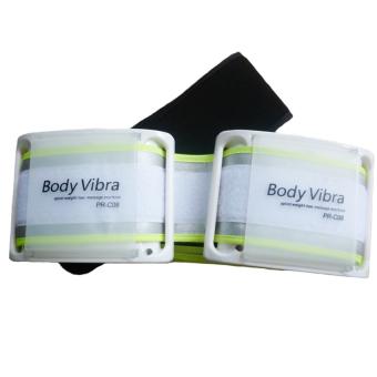 Đai massage Body Vibra PR-C08 (Trắng phối xanh)