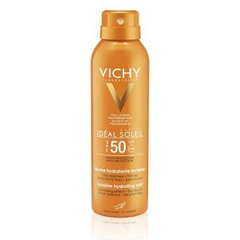 Chai xịt chống nắng dạng phun sương VICHY IDEAL SOLEIL InvisibleHydrating Mist Dry Touch SPF50 200ml