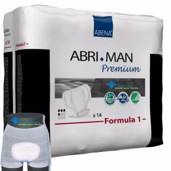 Băng Vệ Sinh Nam Abena Abri-Man F1 (14 Miếng) + Tặng Quần Lót Lưới Abri Fix
