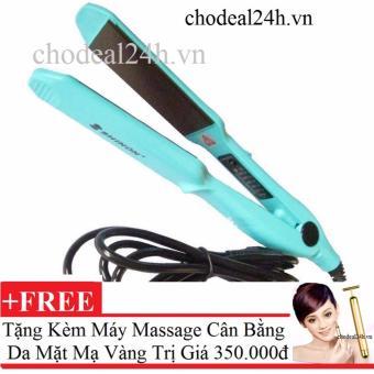 Mua Máy duỗi kẹp tóc đa năng Shinon + Tặng 1 máy mát-xa cân bằng da mặt giá tốt nhất