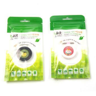 Bộ 2 Kẹp chống muỗi tinh dầu thảo dược Bikit Guard