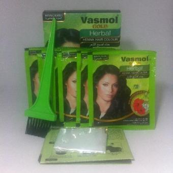 Bộ 2 hộp nhuộm tóc bạc Vasmol (Đen)