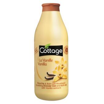 Sữa tắm dưỡng trắng da Cottage La Vanille Vanilla 750ml ( Hương Vanilla )
