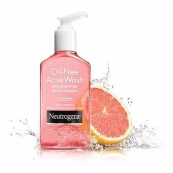 Sữa rửa mặt Neutrogena Oil-Free Acne Wash Pink Grapefruit Facial Cleanser 177ml - Tạm biệt nỗi lo về mụn