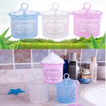 Cốc tạo bọt sữa rửa mặt Hồng CH01