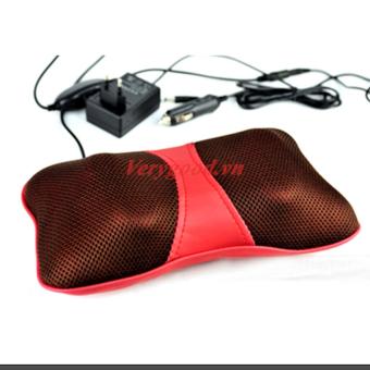 Gối massage hồng ngoại PL818 (đỏ)