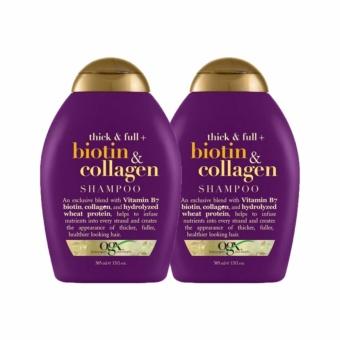 Bộ Dầu Gội & Dầu Xả Thick & Full Biotin & Collagen 385ml