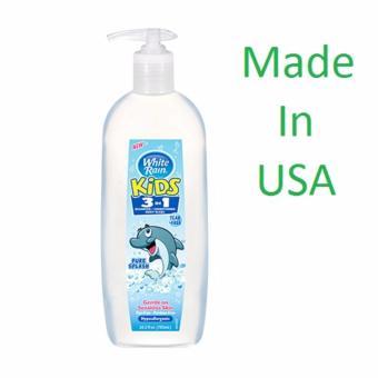 Sữa tắm bé White Rain Kids 3in1 Pure Splash 783ml