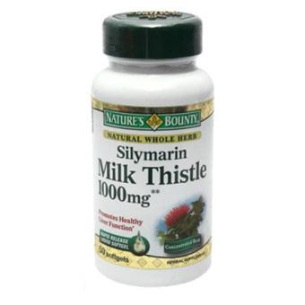 Viên nang mềm Nature's Bounty Sylimarine milk thistle 1000mg 50 viên