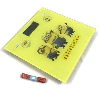 Bộ cân sức khỏe điện tử minion và thước dây