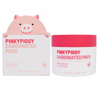 Mặt nạ sủi bọt thải độc và làm sạch da April Skin PinkyPiggy Carbonated Pack 100g