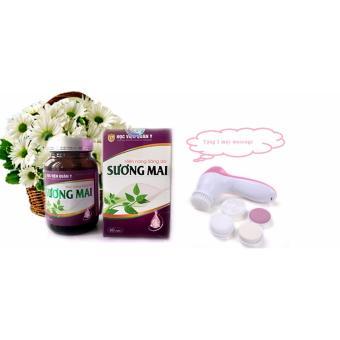 Thuốc trắng da, thuốc trị nám da SƯƠNG MAI + Tặng 1 máy massage rửa mặt