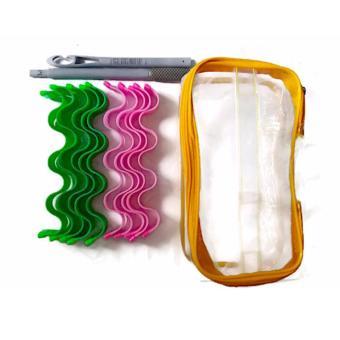 Bộ uốn tóc không dùng nhiệt gợn sóng LTT023