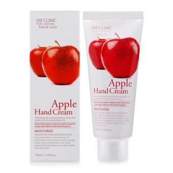 Kem Dưỡng Ẩm Da Tay 3w Clinic Apple Hand Cream 100ml