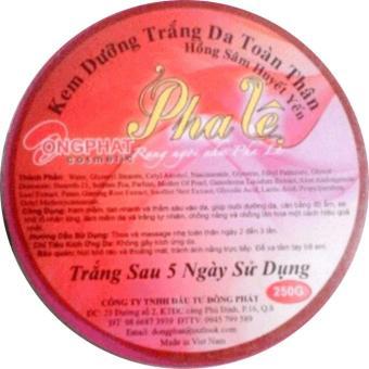Kem Dưỡng Trắng Da Toàn Thân Pha Lê - 250g - PL1027T45