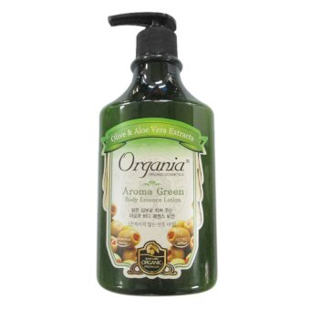 Dưỡng thể từ Tinh chất Aroma - ORGANIA Aroma Green Body Essence Lotion 400g