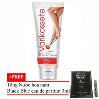 Kem Varikosette Điều Trị Giãn Tĩnh Mạch 75ml + Tặng Nước Hoa Nam Black Blue Eau De Parfum 3ml