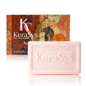 Xà bông Hàn Quốc chứa tinh dầu thảo dược Thụy Sĩ Kerasys Silk Moisture 100g - Hàng Chính Hãng