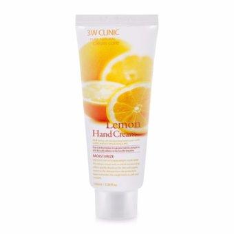 Kem dưỡng da tay chiết xuất chanh 3W Clinic Lemon Hand Cream