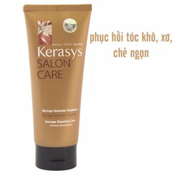 Kem hấp dưỡng tóc giúp phục hồi tóc hư tổn Kerasys Salon Care Repairing Treatment Hàn Quốc 200ml - Hàng Chính Hãng