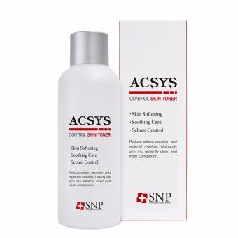 Nước hoa hồng dành cho da mụn, da nhờn SNP ACSYS Control Skin 180ml
