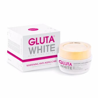 Kem trắng da chống lão hóa ban đêm Gluta White