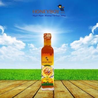 Mật Ong Thiên Nhiên 5 Sạch Honeyboy 250ml