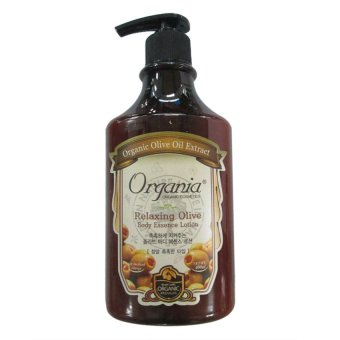 Dưỡng thể ORGANIA Relaxing Olive Body Essence Lotion 400g