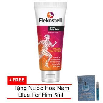 Kem Flekosteel Điều Trị Xương Viêm Khớp Và Thoát Vị Đĩa Đệm + Tặng Nước Hoa Nam Blue For Him Eau De Parfum 5ml
